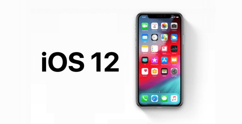 تغییرات ios 12