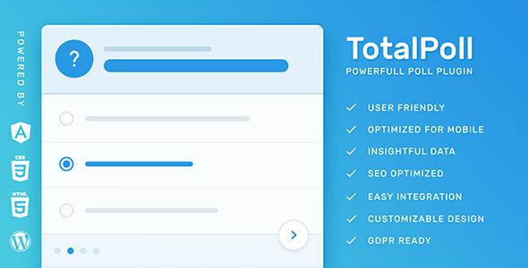 1550340650 totalpoll pro v4.0 wordpress poll plugin - افزونه وردپرس نظر سنجی 4.0.7 Totalpoll Pro | افزونه فارسی نظر سنجی وردپرس