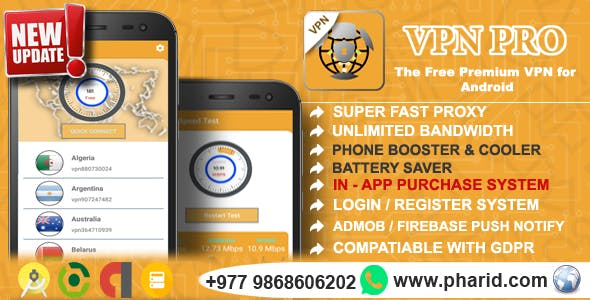 دانلود سورس اپلیکیشن vpn pro | دانلود رایگان سورس اپلیکیشن اندروید vpn pro