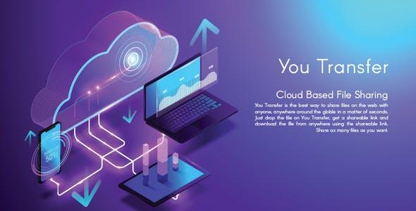 اسکریپت فضای ابری YouTransfer