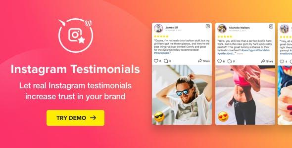 1557553683 instagram testimonials plugin for wordpress v1.3.0 - افزونه وردپرس نمایش پست های اینستاگرام Instagram testimonials
