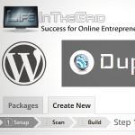 آموزش تصویری ساخت بسته نصبی آسان با افزونه duplicator