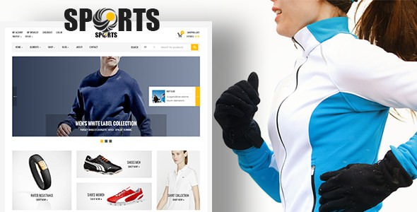 قالب ووکامرس فروشگاه ورزشی و اسپرت | sport shop Theme