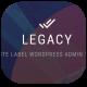 افزونه تغییر پوسته ادمین و یوزر ورپرس Legacy Pro