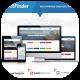قالب وردپرس فروشگاه ماشین و املاک Point Finder + بسته نصبی آسان + آموزش + فارسی