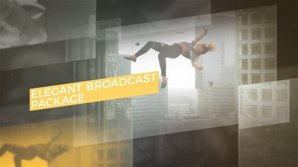 پروژه افتر افکت + آموزش و فایل های کامل Elegant Broadcast Package