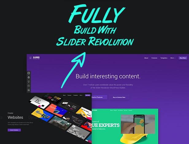 دانلود افزونه فارسی Slider Revolution به همراه پک اسلایدر آماده   افزونه فارسی اسلایدر رولوشن 6.0.0