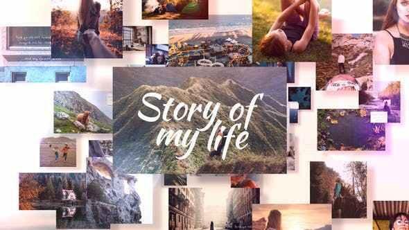 پروژه افتر افکت اسلایدشو حرفه ای Photo Slideshow