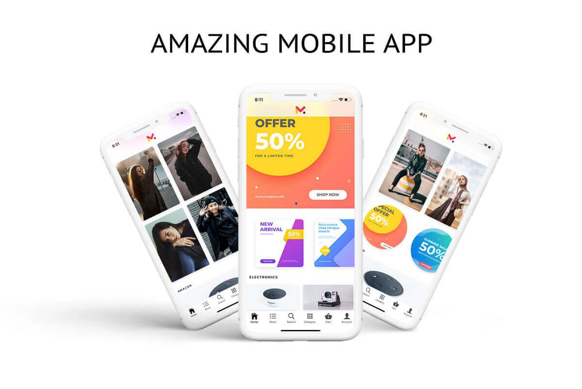 سورس اپلیکیشن ووکامرس Ionic 2.7 (اندروید و iOS ) RTL